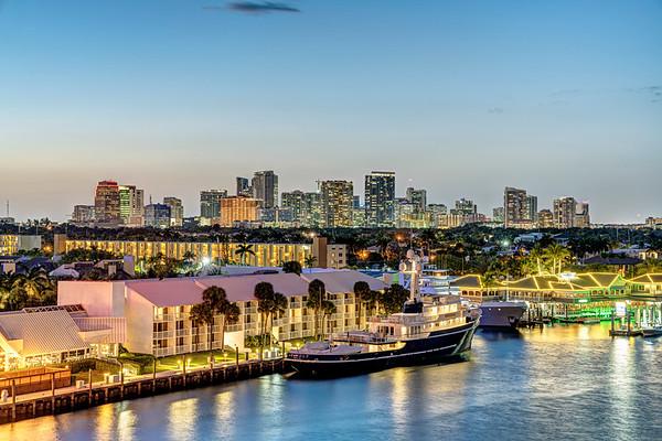 Fort Lauderdale at Dusk