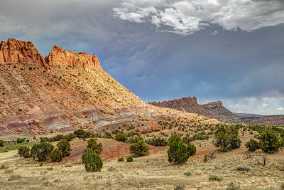 Scary Skies at Capitol Reef