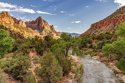 Zion's Famous Bridge View