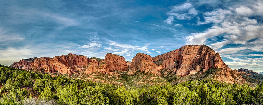 Kolob Canyons at Sunset