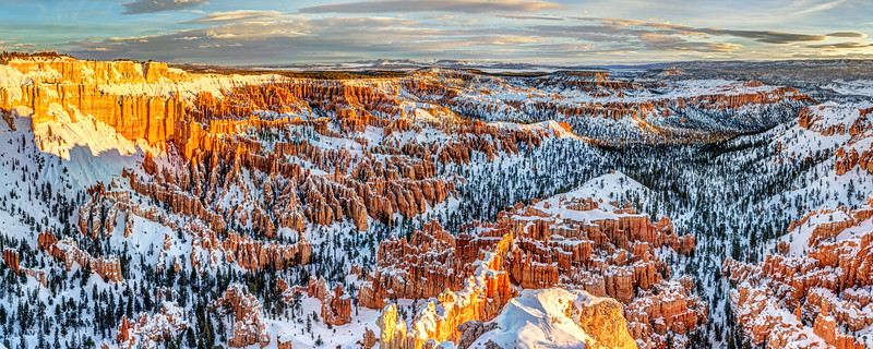Day's First Light at Bryce