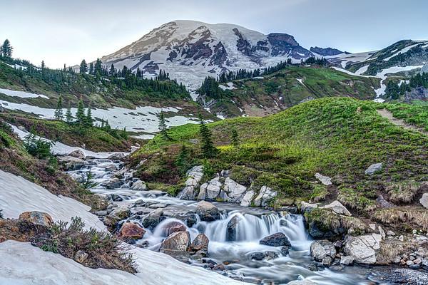 Edith Creek and Rainier