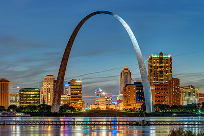 Saint Louis at Dusk
