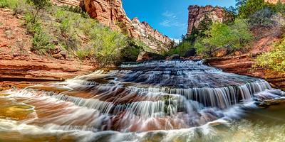 Beautiful Cascade in Zion