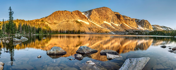 Sunrise at Lake Marie
