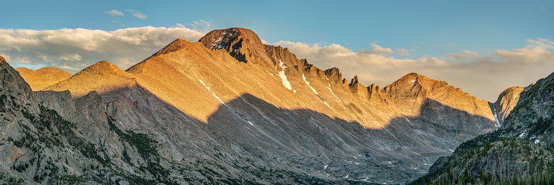 Longs Peak at Sunset