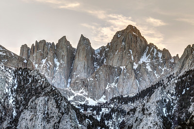 Mt. Whitney at Dusk