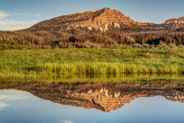 Two Ocean Mountain Reflection
