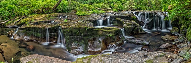 Sweet Creek Panorama