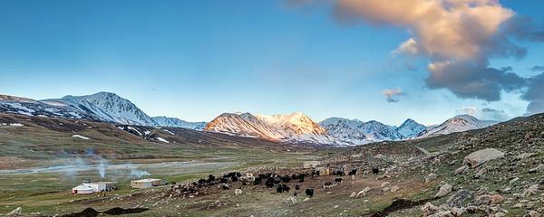 Last Light in Mongolia