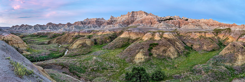 Dawn at the Yellow Mounds