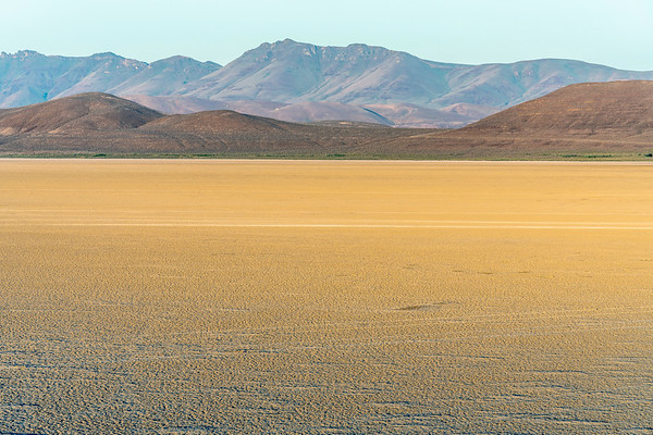 Sunrise at the Alvord Desert