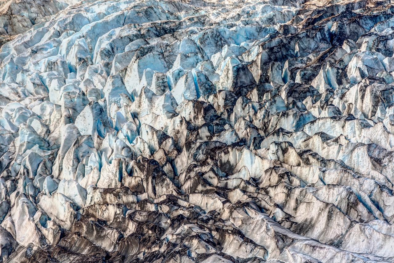 Salmon Glacier Closeup