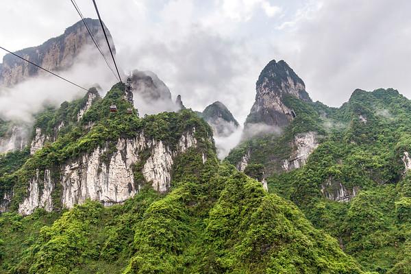 Tianmen Mountain Cable Car