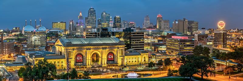 Kansas City Panorama 2018