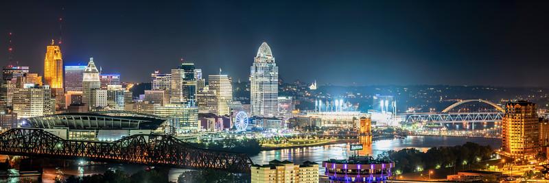 Cincinnati from Devou Park