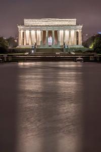 Lincoln Memorial Reflection
