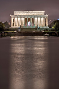 Lincoln Memorial Reflection
