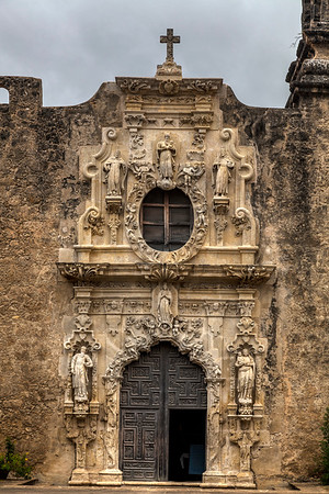 Entry to Mission San Jose