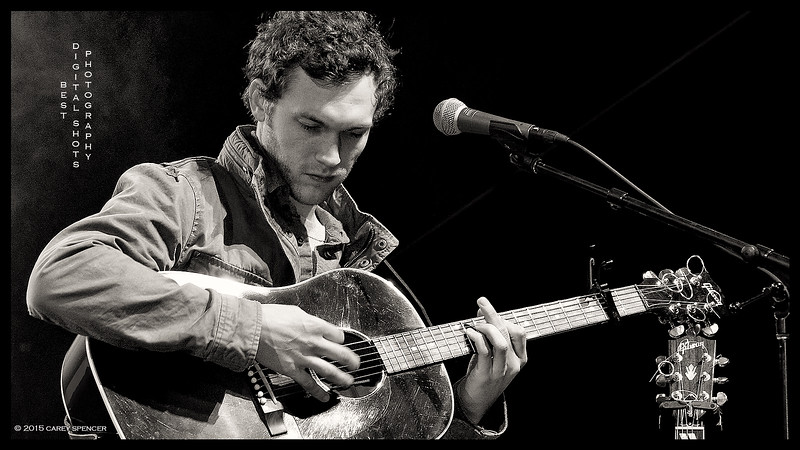 Phillip Phillips on Stage Concert Photography by Carey Spencer