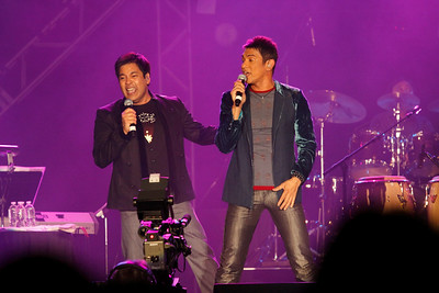 Gary Valenciano and Martin Neviera in Reno