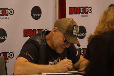 Michael Rooker at 2014 Fan Expo Toronto