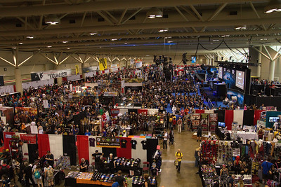 The North Hall at 2014 Fan Expo Toronto