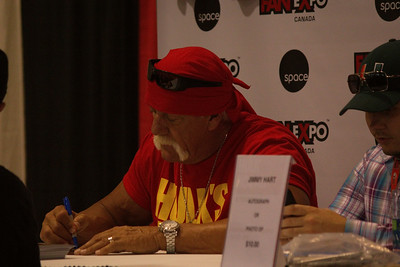 Hulk Hogan at 2014 Fan Expo Toronto