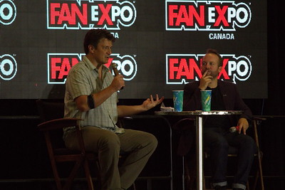 Nathan Fillion at 2014 Fan Expo Toronto