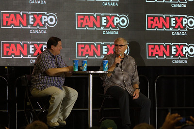 Adam West and Burt Ward at 2014 Fan Expo Toronto