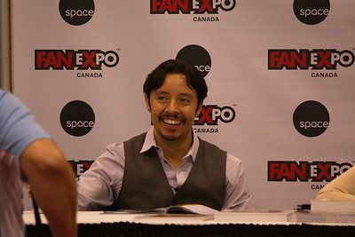Efren Ramirez at 2014 Fan Expo Toronto