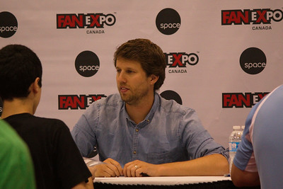 Jon Heder at 2014 Fan Expo Toronto