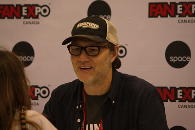 David Morrissey at 2014 Fan Expo Toronto