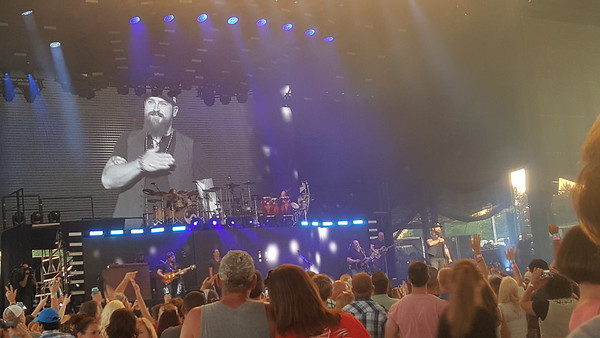 Zac Brown Band at Darien Lake PAC - August 16, 2015