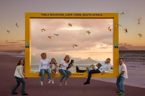 Cape Town Framed
