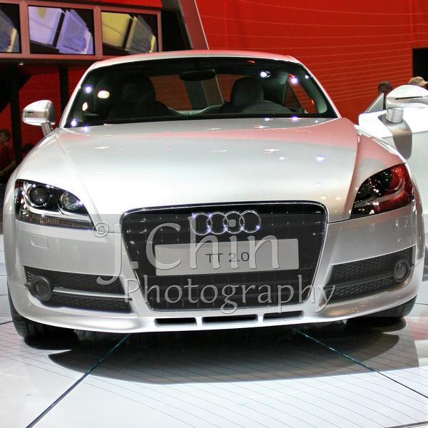 2006 New York Auto Show - 2008 Audi TT Coupe