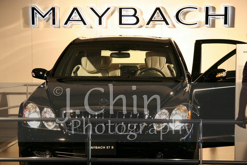 2006 New York Auto Show - Maybach 57 S