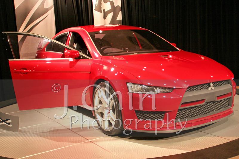 2006 New York Auto Show - Mitsubishi concept car