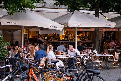 Evening in the Cafes, Copenhagen
