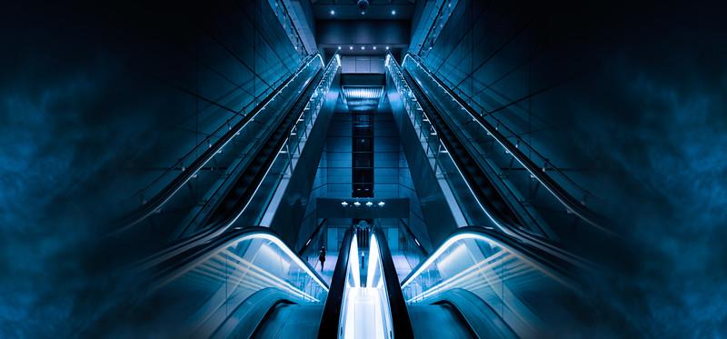 Smokey Sci-Fi Metro Station