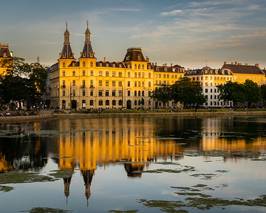 Dawn on the Lakes, Copenhagen, Denmark