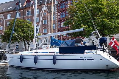 Cruising the Canals, Copenhagen, Denmark
