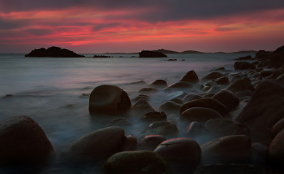 Scilly sunset, St Mary's