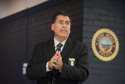 Robert Luna, Chief of Police, Long Beach, California