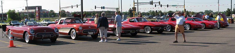 StCVCA Corvette Car Show, Stillwater MN (Aug 2008)