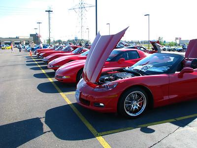 My 2008 C6 Corvette - in Stillwater Car Show (Aug 2008)