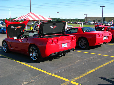 My 2008 C6 Corvette - in Stillwater Car Show (Aug 2008)