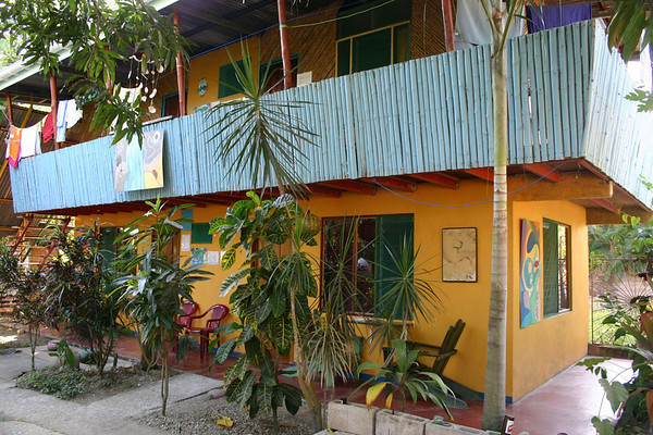Cabinas Kunterbunt - my abode for the evening, in the coastal village of Samara - located along the southwestern coast of the Nicoya Peninsula - Guanacaste (province)