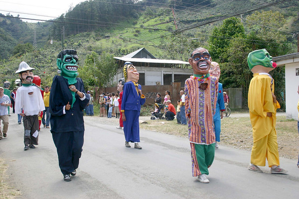 Festival in Orosi (village) - Cartago province (western)