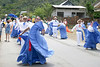 Tican dancers at the festival in village of Orosi - Cartago province (western)